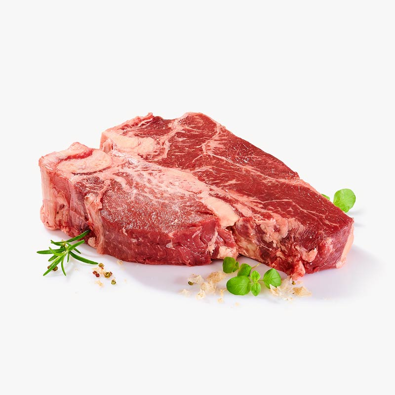 H T bone steak GMZ vac